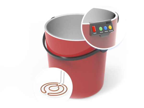 Hero - Smart Bucket Product Design by Usercible Design and UX Consulting