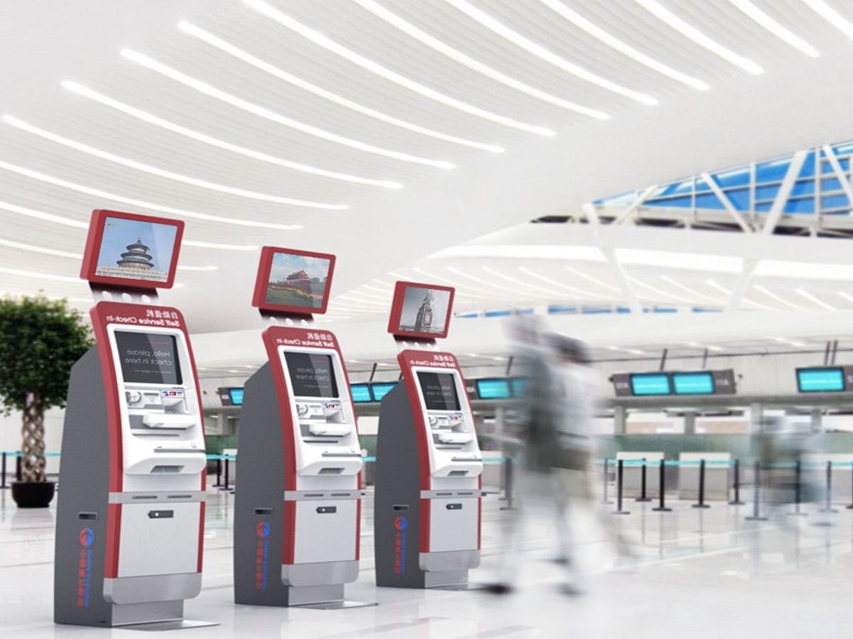 Happy Customer is Everything - Airline Self Check-in Kiosk UX Process